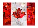 Canada Giclee Print by  Artpoptart