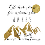 Mountains Giclee Print by  Color Bakery