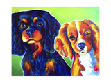 Saffy and Duck Giclee Print by  Dawgart