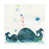 Love You Whales Giclée-tryk af  Wyanne
