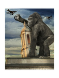 Kong Giclee Print by  J Hovenstine Studios