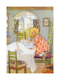 CA Fairy 48 Giclee Print by  Vintage Apple Collection