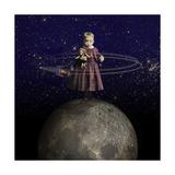 Planet Baby Giclee Print by  J Hovenstine Studios