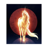 Last Unicorn Giclee Print by  JoJoesArt