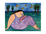 Big Diva Early Evening Giclee Print by  Wyanne