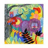 Dandy Lion Giclee Print by  Wyanne