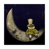 Moon Rider Giclee Print by  J Hovenstine Studios
