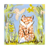 Fox in the Brambles Giclee Print by  Wyanne