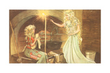 CA Fairy 35 Giclee Print by  Vintage Apple Collection