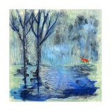 Tranquil Travels Giclee Print by  Wyanne