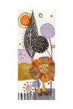 Hear My Roar Giclee Print by  Wyanne