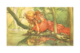 CA Fairy 36 Giclee Print by  Vintage Apple Collection