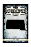 States Brewing Co South Dakota Giclee Print by  LightBoxJournal