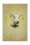 Christmas Earings Giclee Print by  J Hovenstine Studios