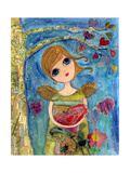Enough Love Fairy Giclee Print by  Wyanne