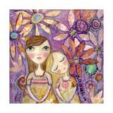 French Sisters Giclee Print by  Wyanne