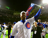 Aroldis Chapman celebrates winning Game 6 of the 2016 National League Championship Series Photo