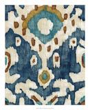 Ocean Ikat II Premium Giclee Print by Chariklia Zarris