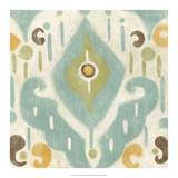 Serene Ikat II Premium Giclee Print by Chariklia Zarris