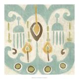 Serene Ikat I Premium Giclee Print by Chariklia Zarris