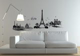 Paris City Of Love Wall Decal