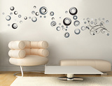 Circular Abstractions Wall Decal