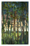Through the Trees II Premium Giclee Print by Bill Rose