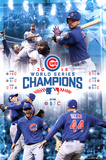 MLB: 2016 World Series Celebration Posters