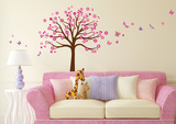Tree of Hearts Wall Decal