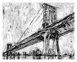 Iconic Suspension Bridge I Premium Giclee Print by Ethan Harper