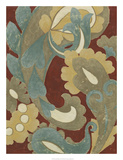 Provincial Paisley II Premium Giclee Print by Chariklia Zarris