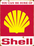 Sure of Shell Tin Sign