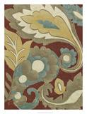 Provincial Paisley I Premium Giclee Print by Chariklia Zarris