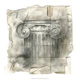 Draftsman's Sketchbook I Premium Giclee Print by Ethan Harper