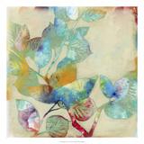 Merging Leaves I Giclee-tryk i høj kvalitet af Jennifer Goldberger