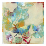 Merging Leaves I Premium Giclee Print by Jennifer Goldberger