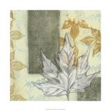 Leaf Repeat I Premium Giclee Print by Jennifer Goldberger