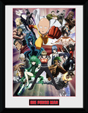 One Punch Man - Key Art Stampa del collezionista