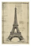 European Icons I Premium Giclee Print by Ethan Harper