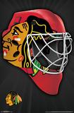 NHL: Chicago Blackhawks- Logo Mask 16 Posters
