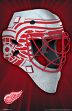 NHL: Detroit Red Wings- Logo Mask 16 Poster