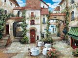 Le Marais Premium Giclee Print by Roger Duvall