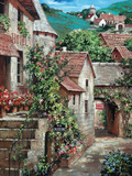 Italian Country Village I Art by Roger Duvall