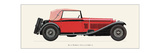 Alfa Romeo, 1930 Prints by Antonio Fantini