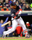Jose Ramirez Double Game 1 of the 2016 World Series Photo