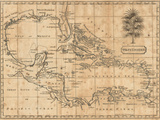 Caribbean, 1806 Prints by Andrew Arrowsmith