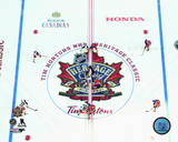 Opening Face-Off 2016 NHL Heritage Classic Photo