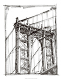 Graphic Architectural Study IV Premium Giclee Print by Ethan Harper