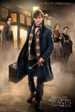 Fantastic Beasts- Newt & The Gang Plakat