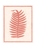 Silhouette in Coral II Prints by Susan Davies